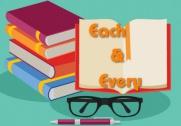 Phân biệt cách dùng Each và Every trong Tiếng Anh